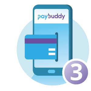 PayBuddy piktogram betaling nr3